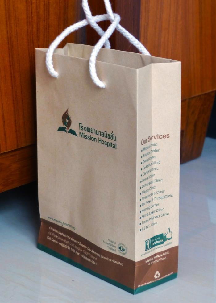 Mission hospital bag