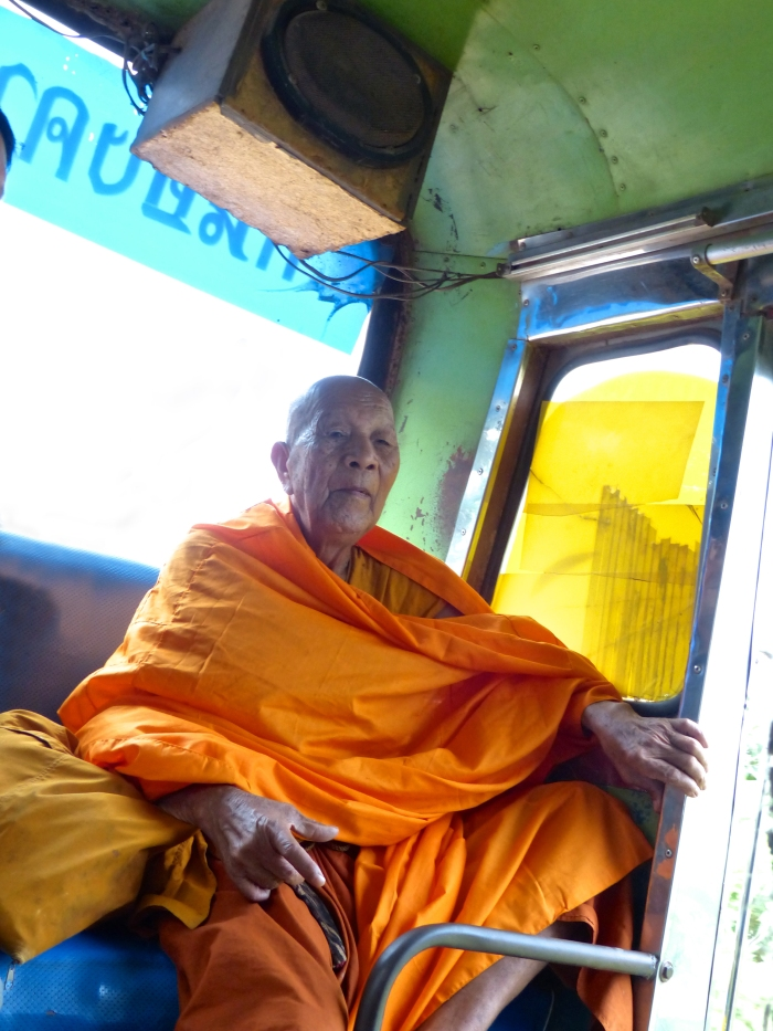 Monk ona bus