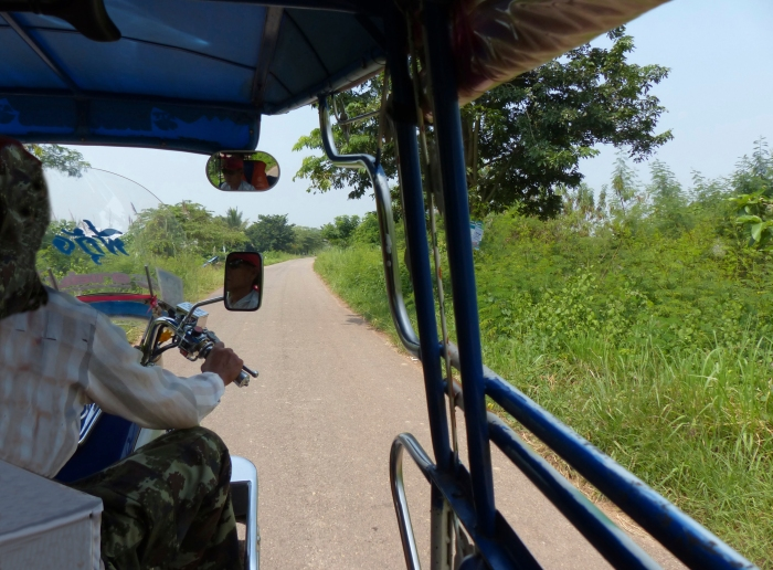 Tuk Tuk to first hotel