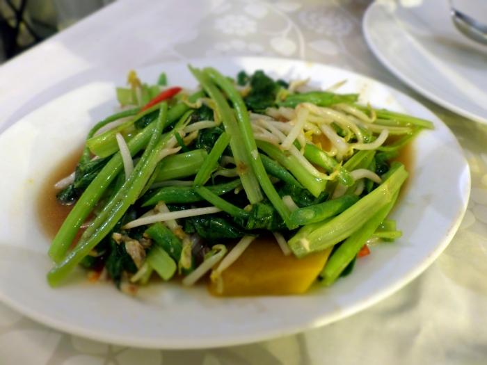 Pumkin and Veggies in delicious sauce