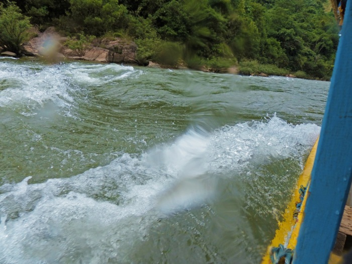 Rapids on the Nam Oe