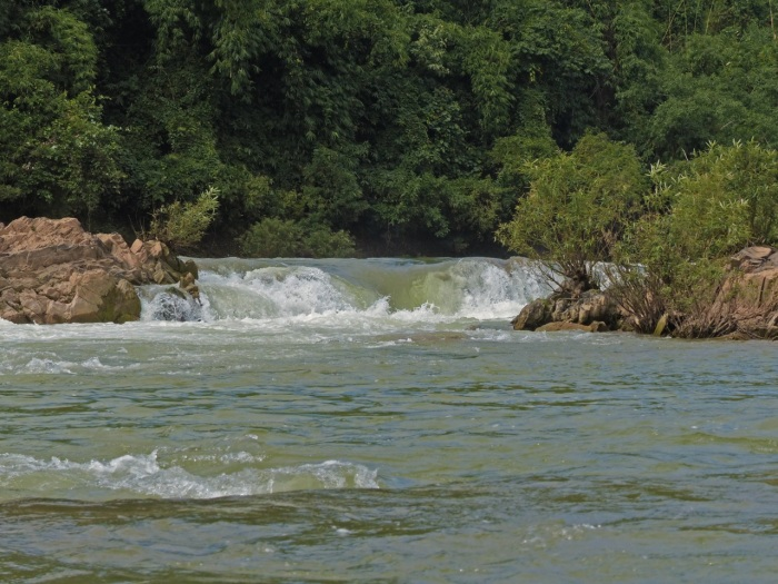 Rapids on the Nam Ou