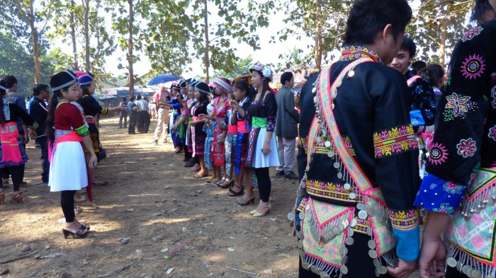 Hmong courtship and just fun