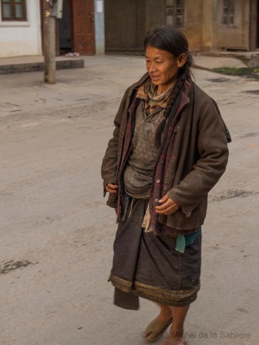Ethnic woman