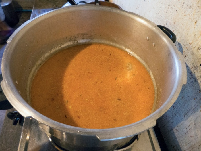 Correct color and final broth