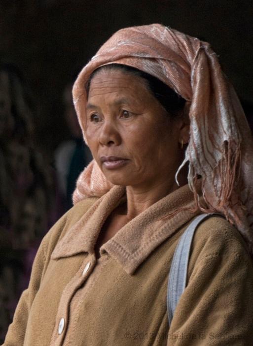 Beige Market woman