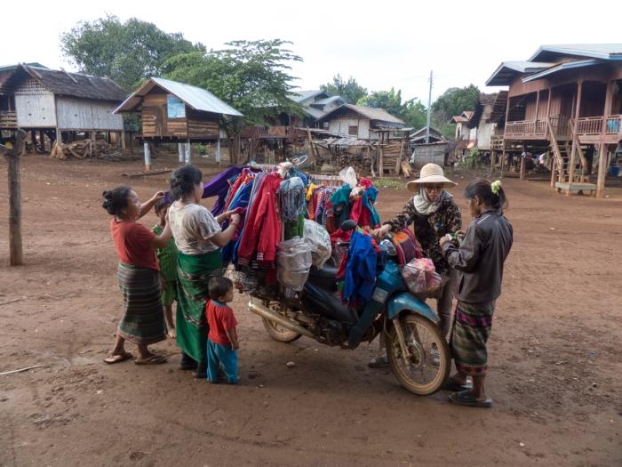 Shopping in the Katu Village