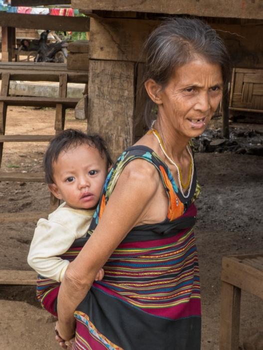 Katu woman and child
