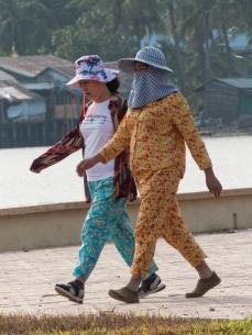 okay to wear pajamas in Cambodia