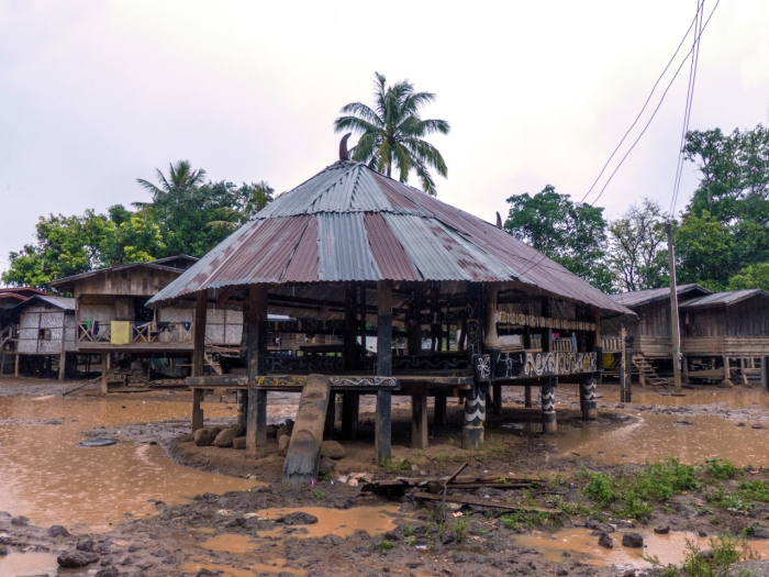Community House with Tin Roof