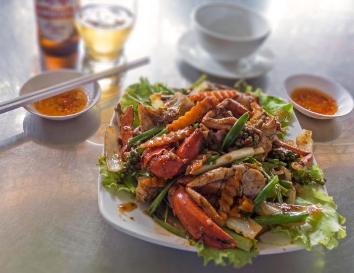 Crab in Kampot Pepper Sauce