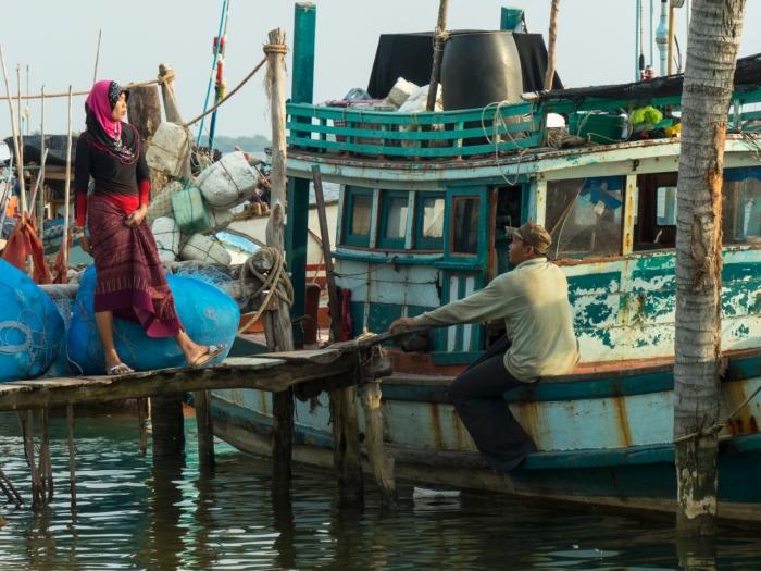 Muslim Fisherman Boat