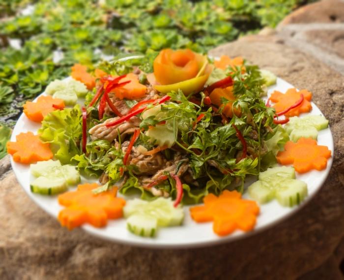 Chicken and Banana Flower Salad