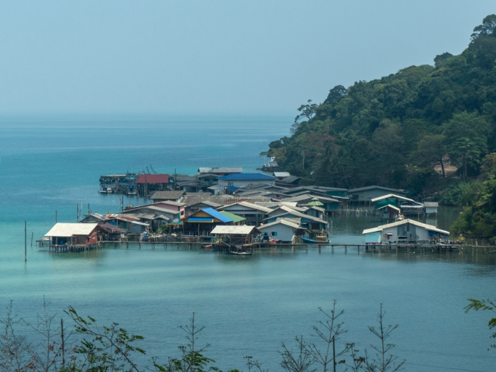 Ao Yai fisherman village on stilts