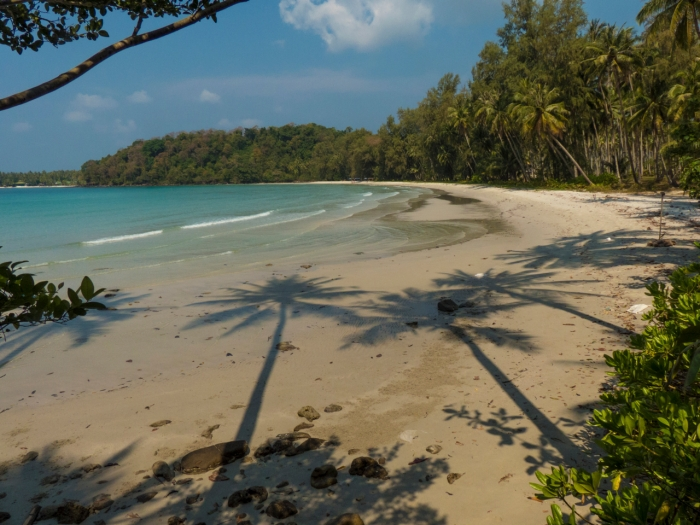 Deserted Beach at Neverland Resort