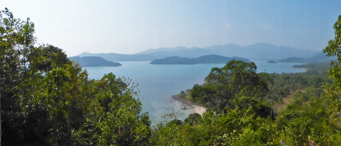 View of bay at Koh Chang