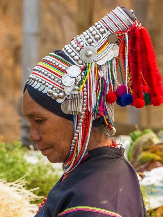 Complex headdress