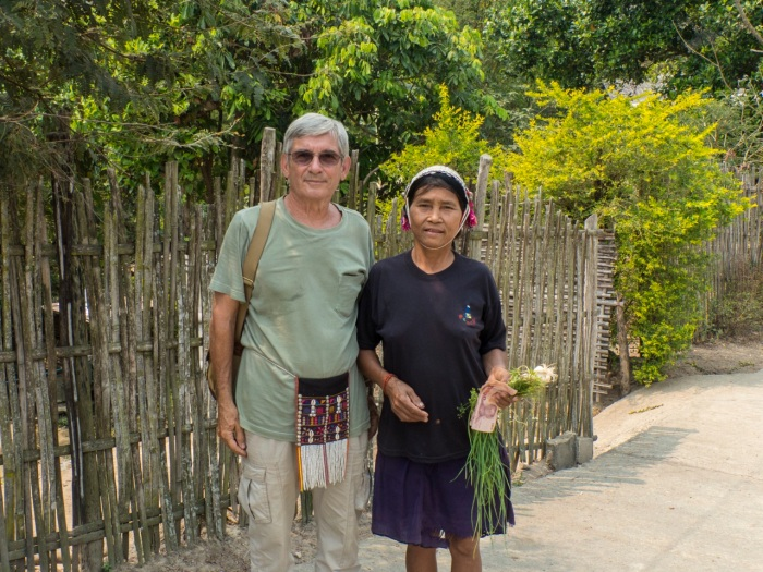 Michel with Ahka sash