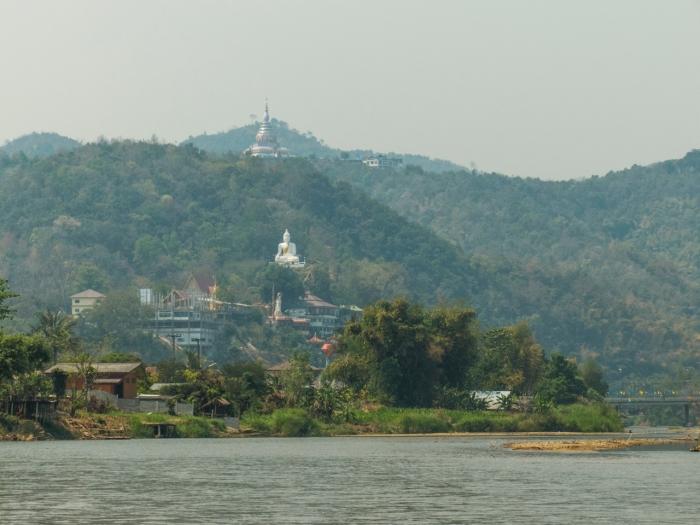 Arriving at Tha Ton