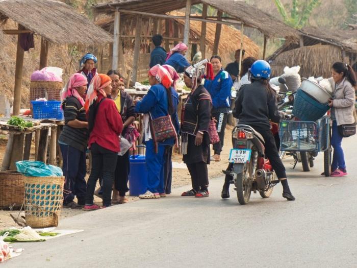 Local women shopping
