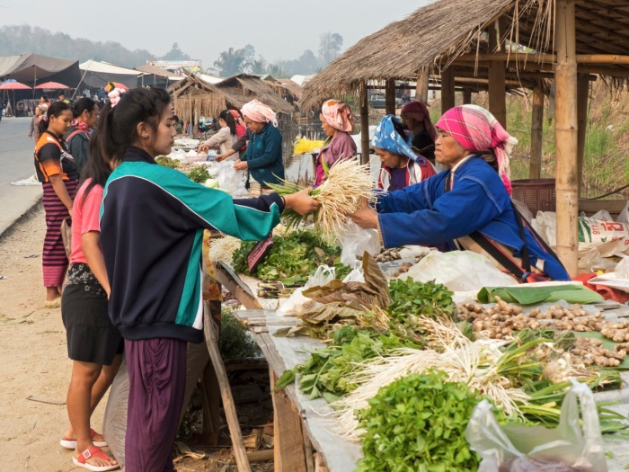 Selling local food