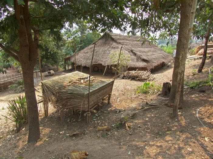 Akha Village on the hill