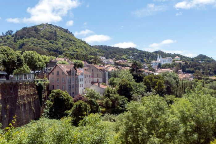 Lovely old city of Sintra