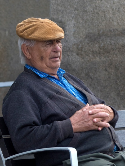 Locals in Evora
