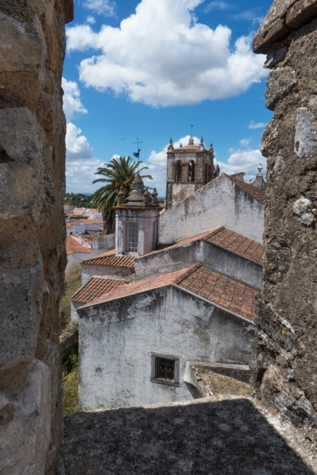 Serpa - the city is inside the old castle walls