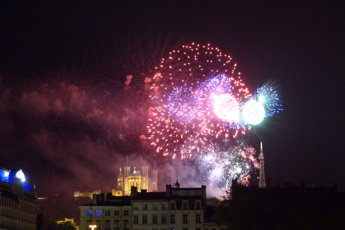 Bastille Celebration in Lyon