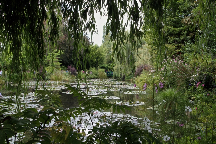 Outside Paris in Monet's Garden