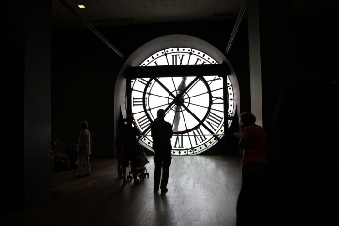 In Paris at the Musee D'Orsay