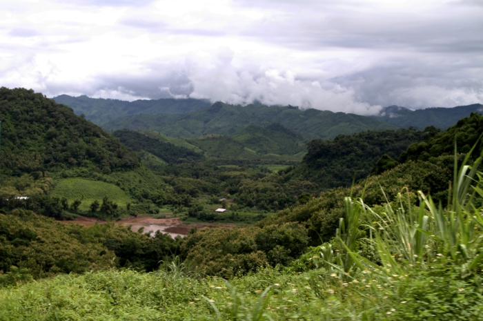 Beautiful hills near Luang Prabang