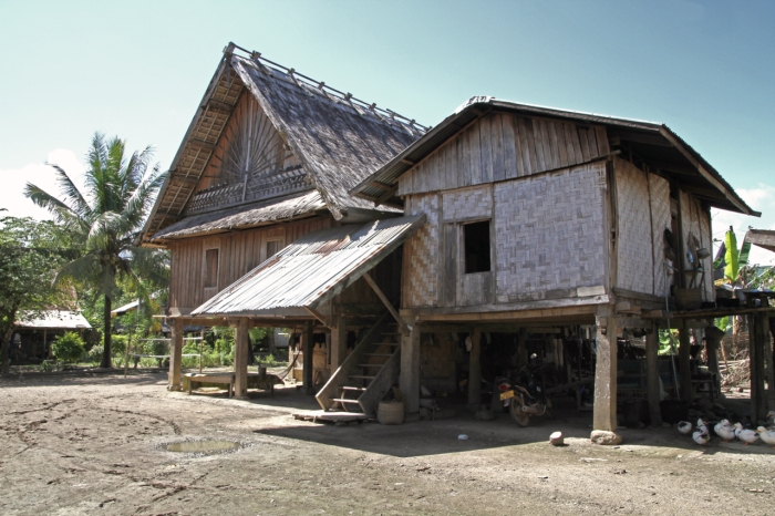 Traditional House in the village